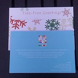 Tree free greetings - Christmas